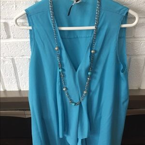 Asymmetrical tunic